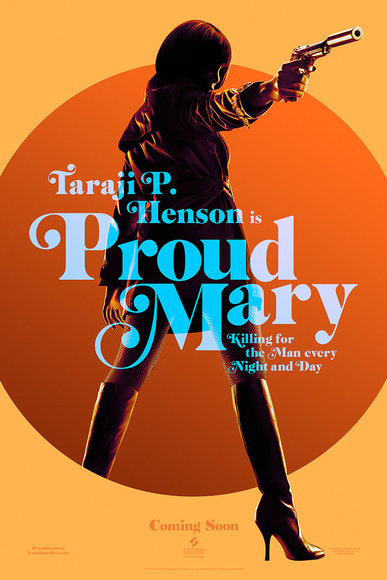 Proud Mary, Taraji, Entertainment