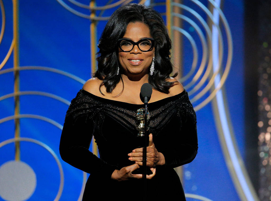 Oprah, Winfrey, Golden, Globe, MeToo, Time's, Up