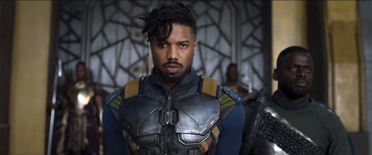Black, Panther, Marvel, Killmonger